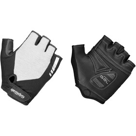 GripGrab ProGel Gevoerde Halve Vinger Handschoenen Dames, white